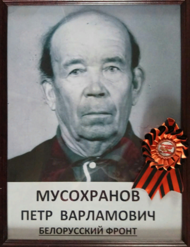 Мусохранов Петр Варламович