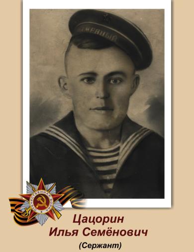 Цацорин Илья Семенович