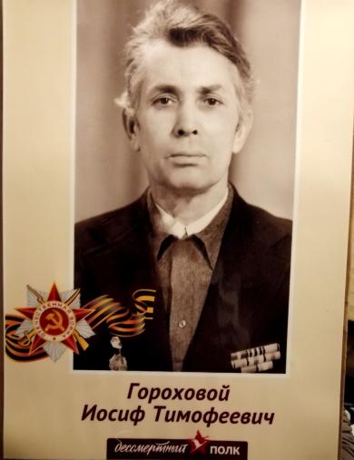Гороховой Иосиф Тимофеевич