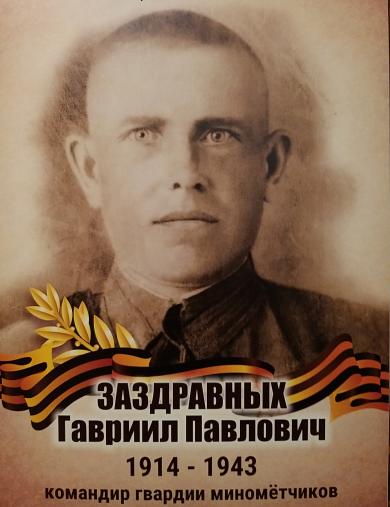 Заздравных Гавриил Павлович