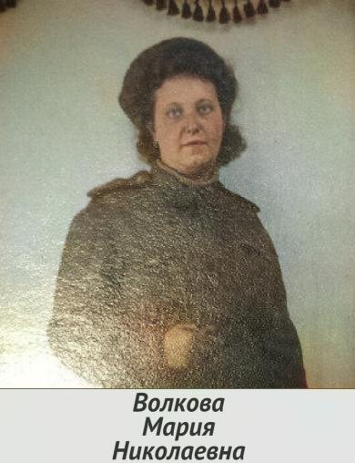 Волкова Мария Николаевна