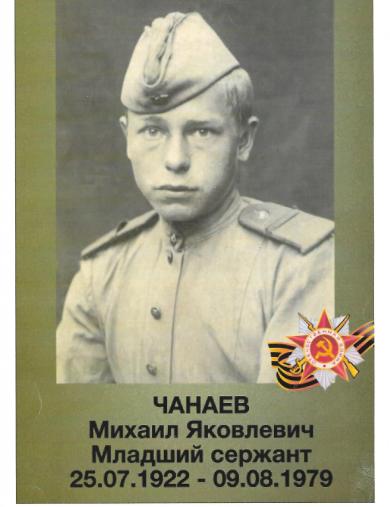 Чанаев Михаил Яковлевич