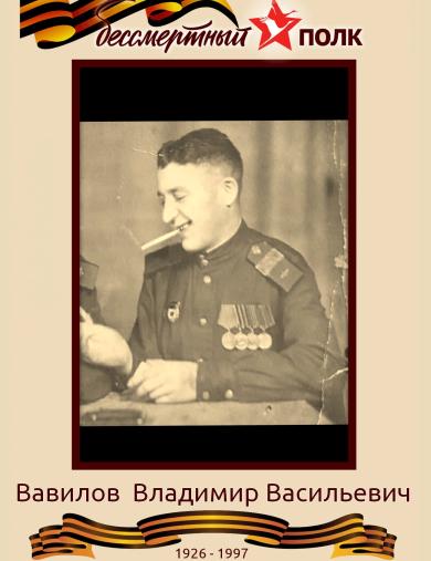 Вавилов Владимир Васильевич