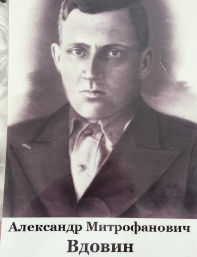 Вдовин Александр Митрофанович