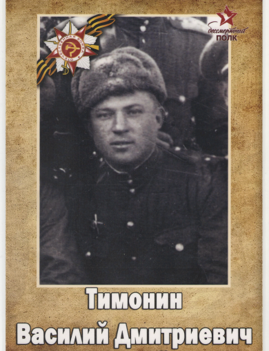 Тимонин Василий Дмитриевич