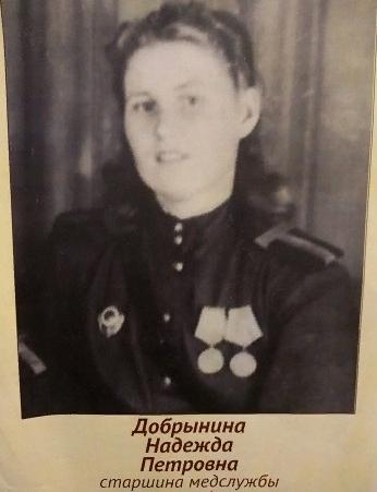 Добрынина Надежда Петровна