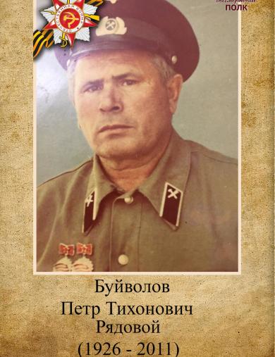 Буйволов Петр Тихонович