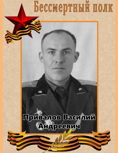 Привалов Василий Андреевич