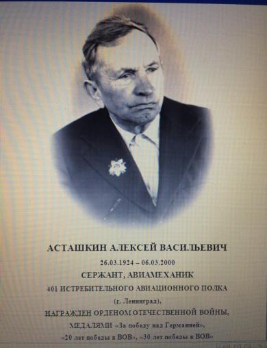 Асташкин Алексей Васильевич