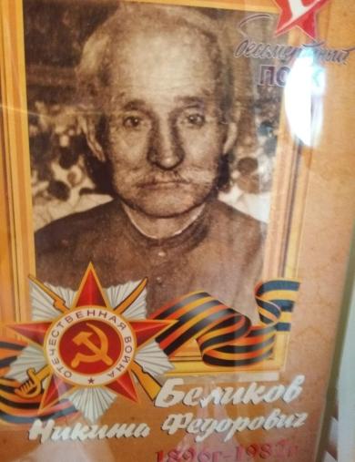 Беликов Никита Фёдорович
