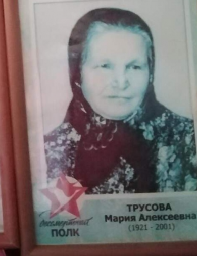 Трусова Мария Алексеевна