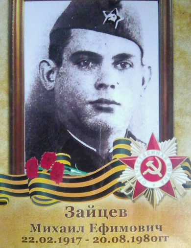 Зайцев Михаил Ефимович