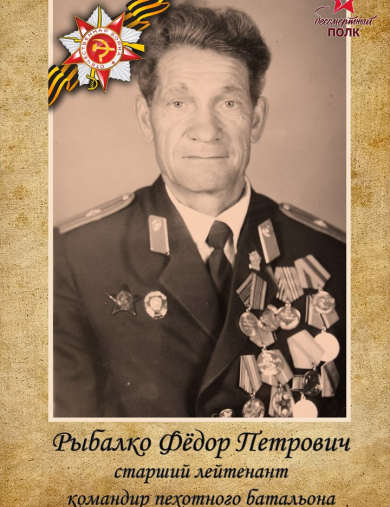 Рыбалко Федор Петрович