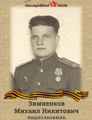 Зимненков Михаил Никитович