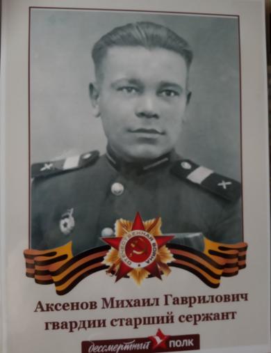 Аксёнов Михаил Гаврилович