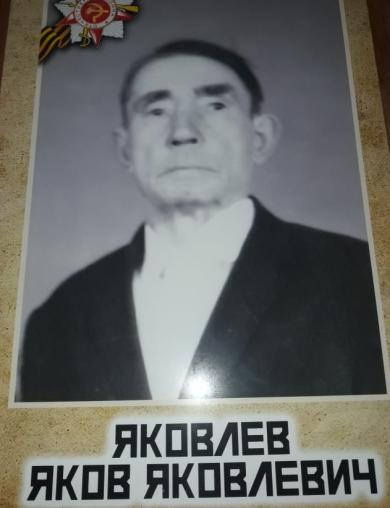 Яковлев Яков Яковлевич
