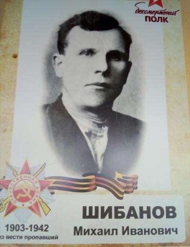 Шибанов Михаил Иванович