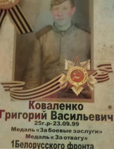 Коваленко Григорий Васильевич