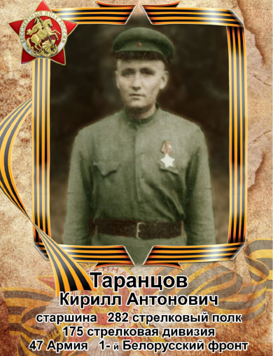 Таранцов Кирилл Антонович