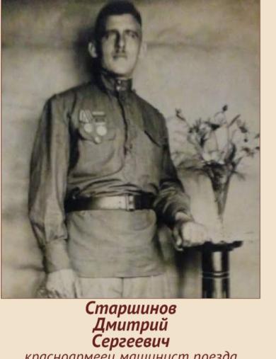 Старшинов Дмитрий Сергеевич