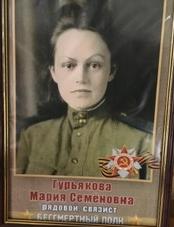 Гурьякова Мария Семёновна