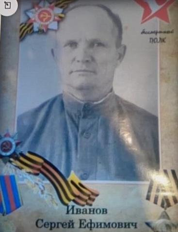 Иванов Сергей Ефимович