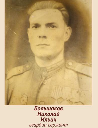 Большаков Николай Ильич