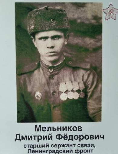 Мельников Дмитрий Фёдорович