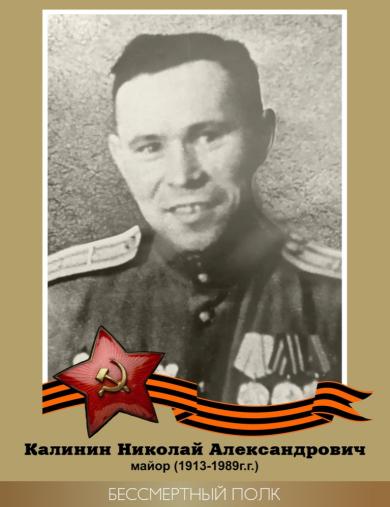 Калинин Николай Александрович