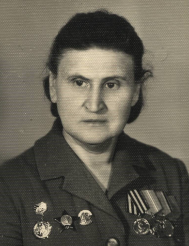 Устинова Степанида Васильевна