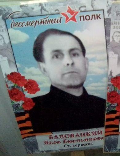 Баловацкий Яков Емельянович