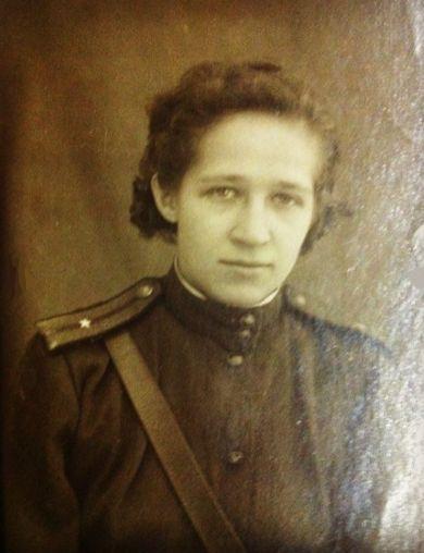 Автомонова (Зыкова) Зинаида Андриановна