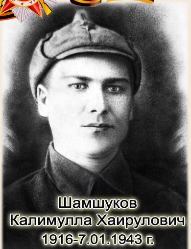 Шамшуков Калимулла Хайрулович