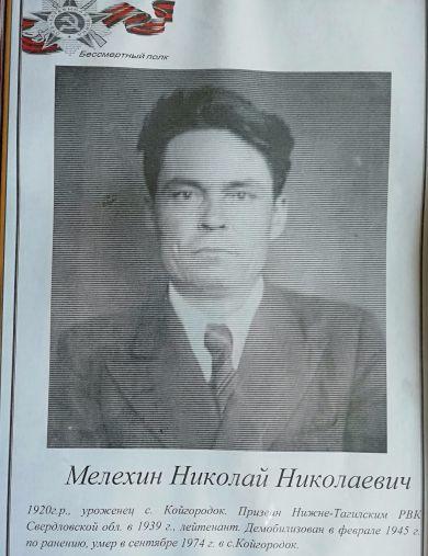 Мелехин Николай Николаевич