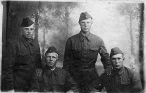 Фирсов Алексей Андреевич  (третий слева)
