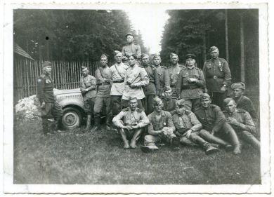 Бойцы 464 гв. арт дивизиона