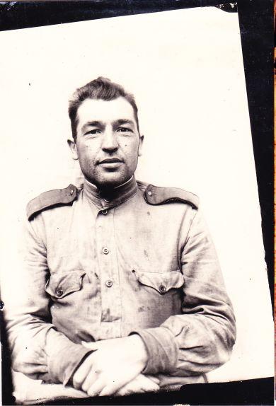 Рядовой охранной роты отдела контрразведки 65-й Армии