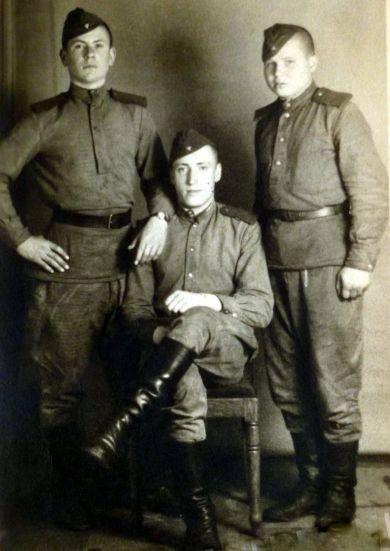 Жуков, Кошиленко и Николай