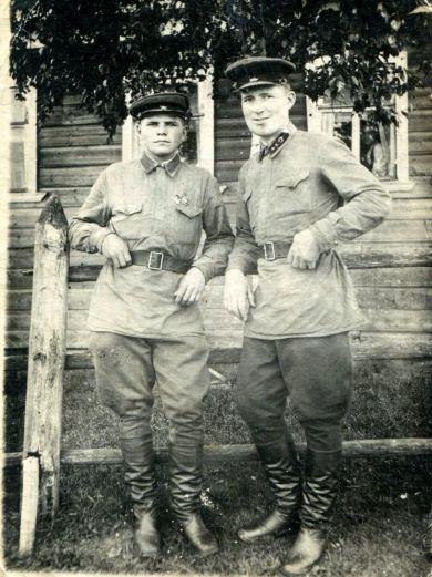 Русанов Владимир и  Водопьянов