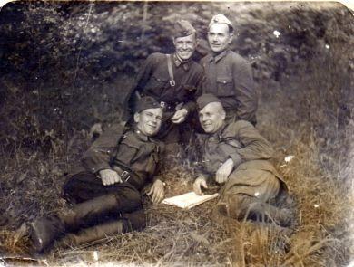 Офицеры 10-й Армии Западного фронта