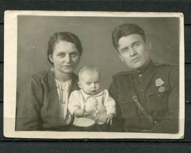 Ольга Павловна Бушман с супругом