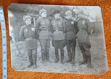 Федор и его боевые товарищи (ФИО на обороте)