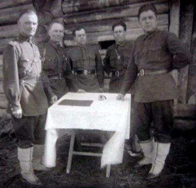 Гусаров, Качуровский, Касаткин, Алехин, Веснин
