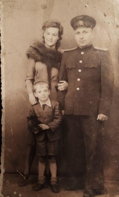 Семья Краснобаевых