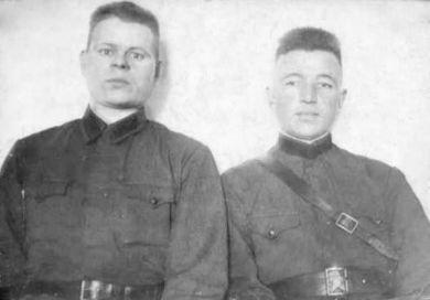 Горячев Иван Кузьмич и Петр Николаевич