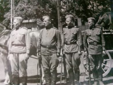 Сослуживцы  Шандина Афанасия Филимоновича