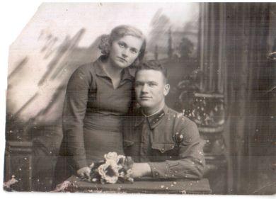 Полукариков Николай Михайлович с женой