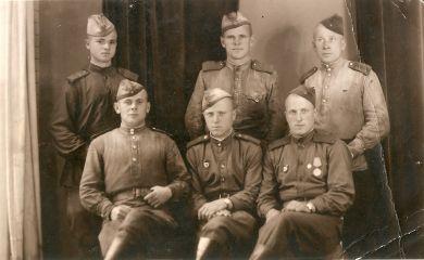 Солдаты 26 гв. вдсп
