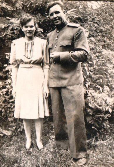 майор Климов и Александра