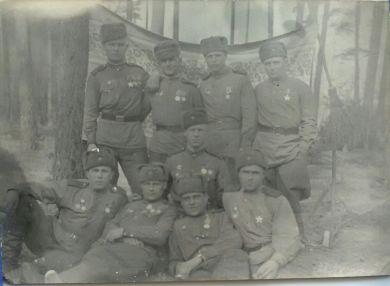 Группа минометчиков